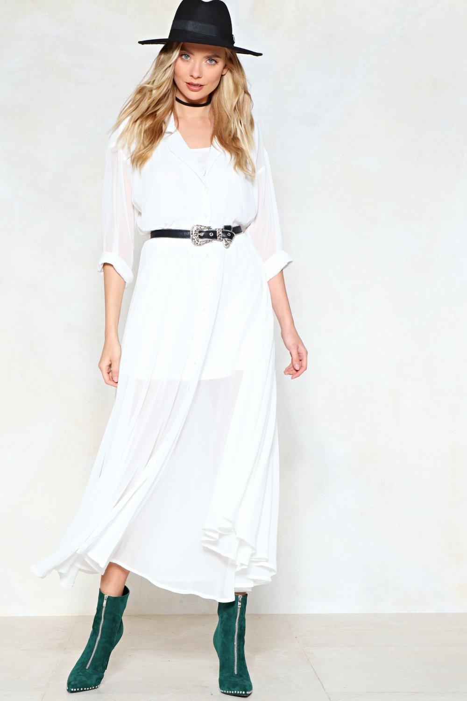 159f0a1c315c8 Love Shirts Maxi Dress | Shop Clothes at Nasty Gal!
