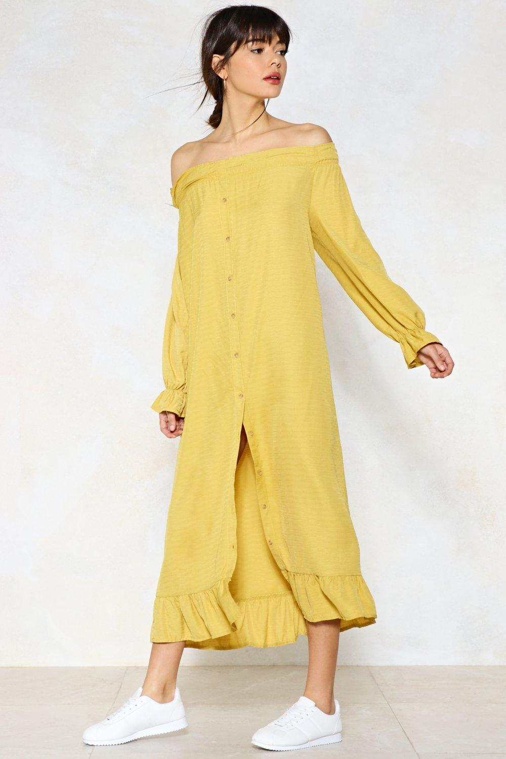 b28a7e60f2 Nastygal · Bright as a Button Maxi Dress · #anthropologie #boutique  #brightbuttonmaxi #cardiganillinoisgy #freepeople ...