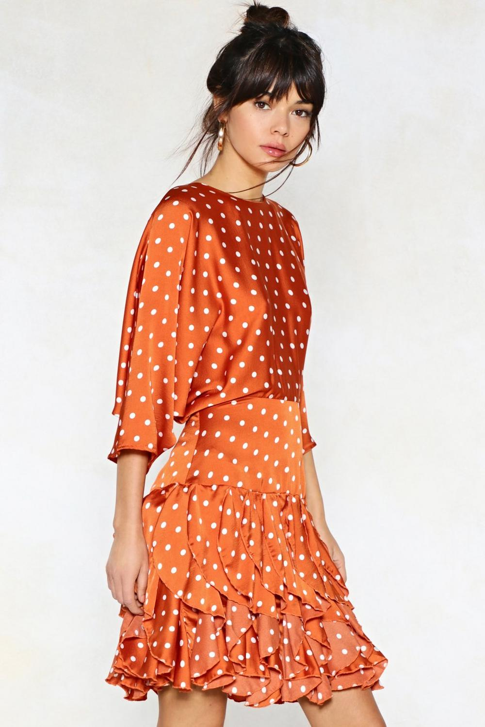 57ad6c56cc2a Dot to Have Your Love Polka Dot Dress | Shop Clothes at Nasty Gal!