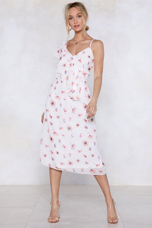 Dont Grow Away Floral Dress Shop Clothes At Nasty Gal