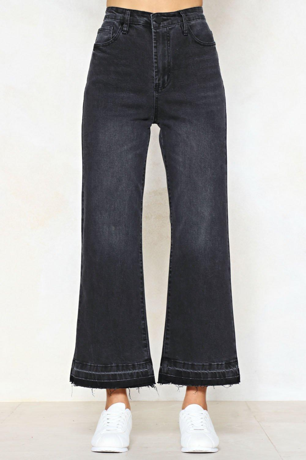 564c0379f4a72 ... Wide Open Cropped Jeans. Hover to zoom
