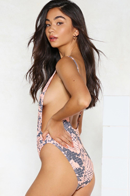 175ec46303a19 Nasty Gal Alina Snake Swimsuit | Shop Clothes at Nasty Gal!