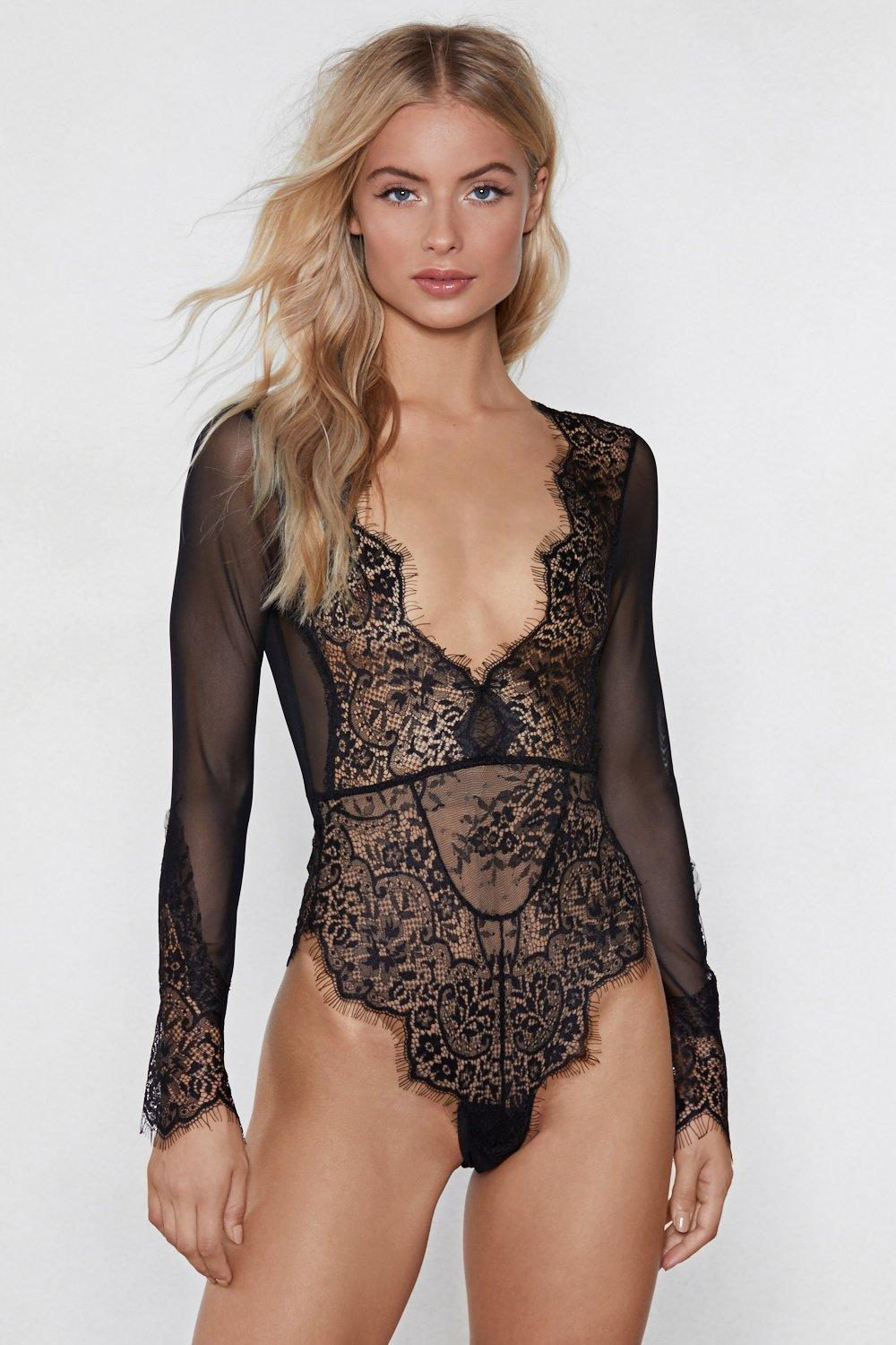 adc1721fa Buy❤ lingerie top bodysuit ❤