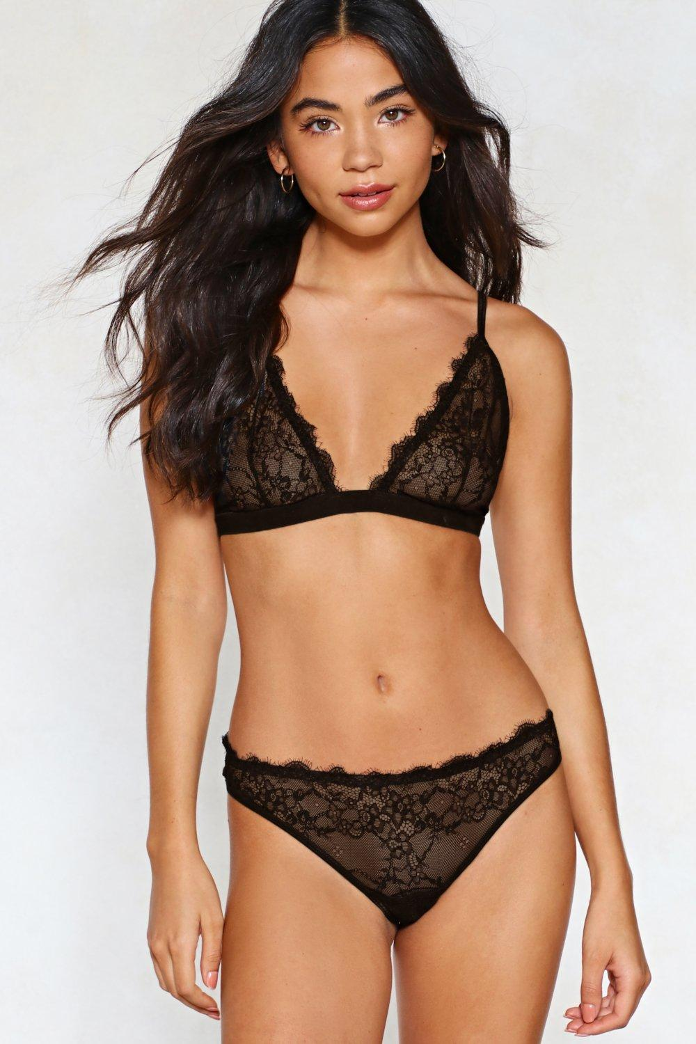 bf7b37193d87 Set For Anything Lace Bralette and Panty Set | Shop Clothes at Nasty ...