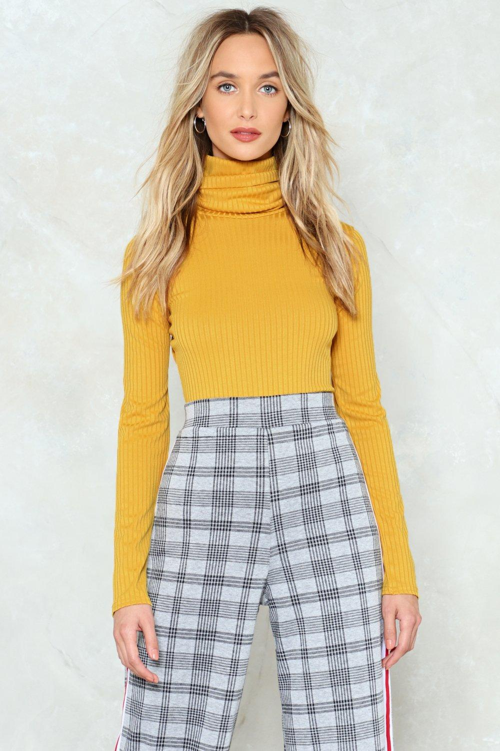 Got No Chill Turtleneck Sweater Shop Clothes At Nasty Gal
