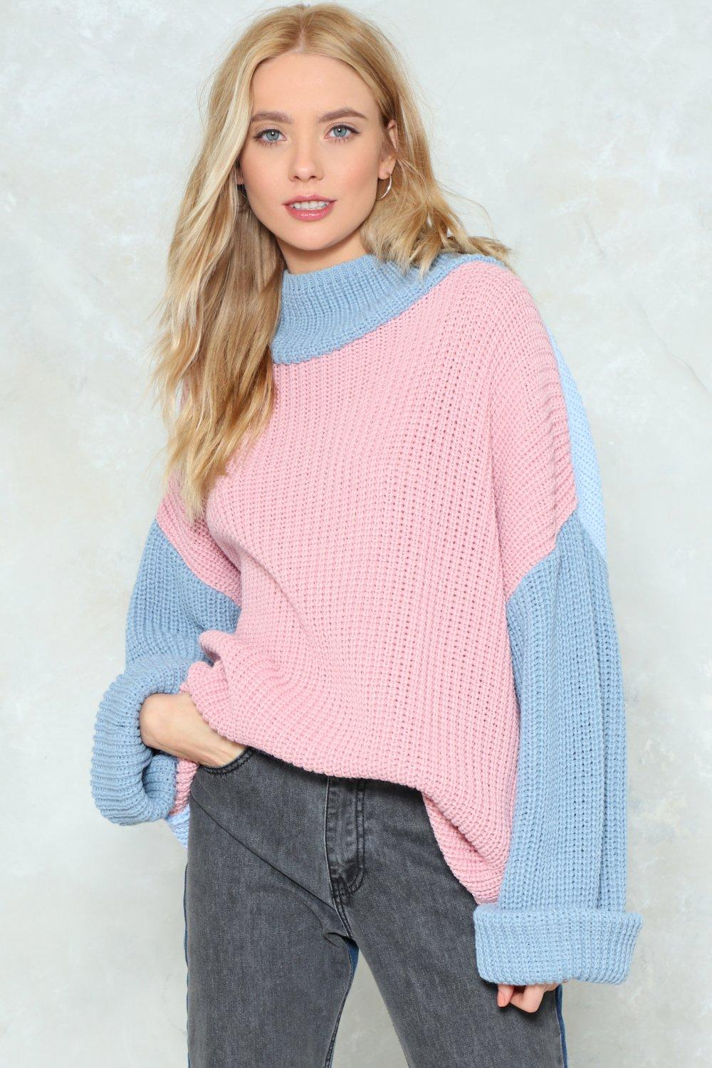 f3ffa292b7242 Knit Must Be Love Contrast Sweater | Shop Clothes at Nasty Gal!