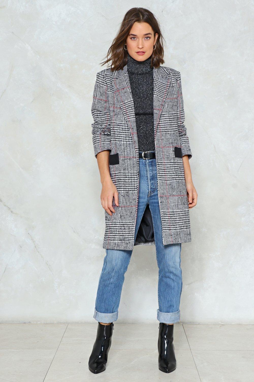 e532d78779d0 Spot Check Longline Coat   Shop Clothes at Nasty Gal!