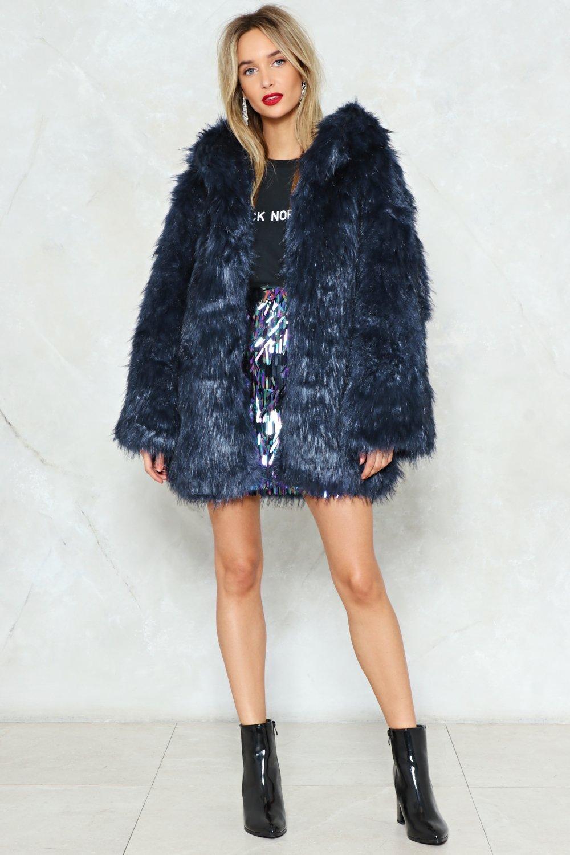 Just Fur You Faux Fur Coat Shop Clothes At Nasty Gal