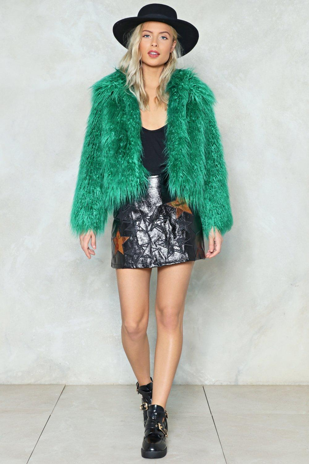 3b2f0bd8f314 Fur All the World Faux Fur Coat