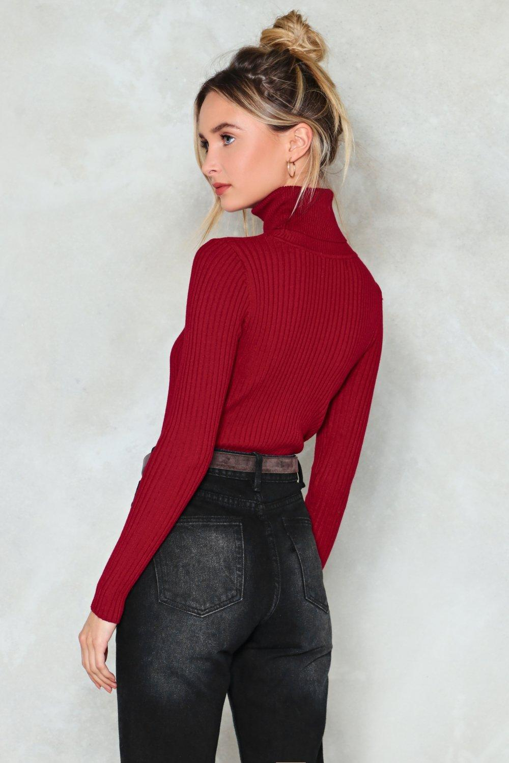 c7f17a0e2e39 My Neck of the Woods Turtleneck Sweater | Shop Clothes at Nasty Gal!