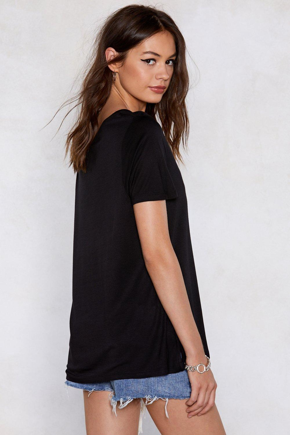 7ccc0c85 Back to Basics V-Neck Tee | Shop Clothes at Nasty Gal!