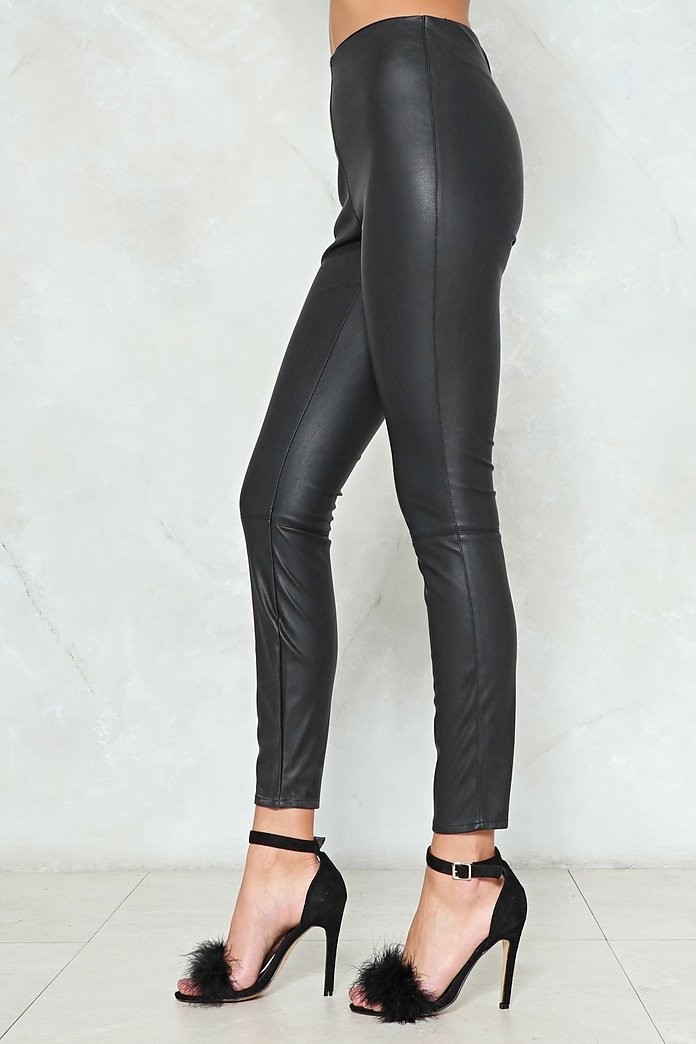 discount for sale latest trends of 2019 luxury fashion So Close Faux Leather Leggings | Shop Clothes at Nasty Gal!