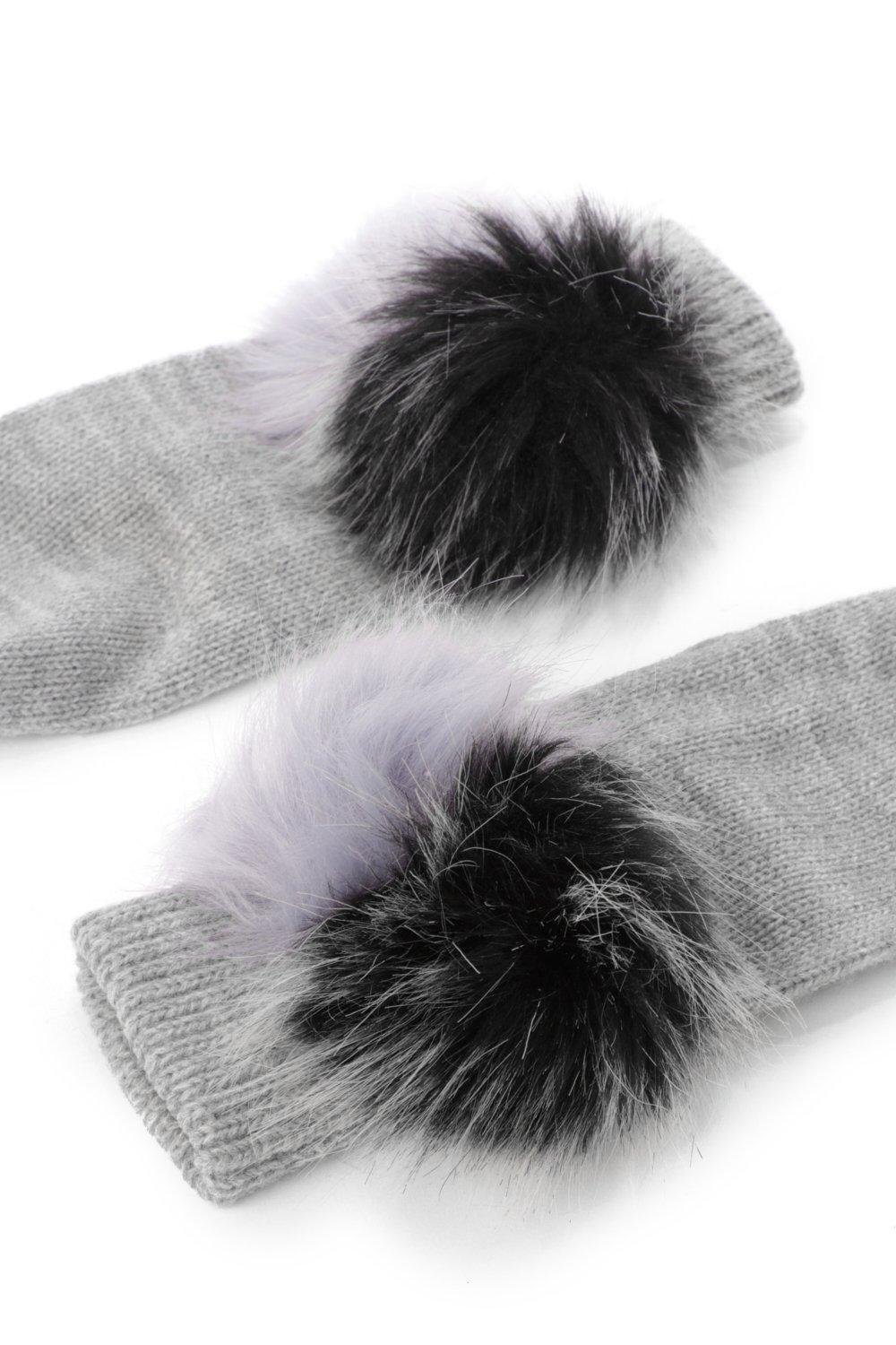 54f03dedefe Close at hand faux fur mitten gloves shop clothes at nasty gal jpg  1000x1500 Grey hand