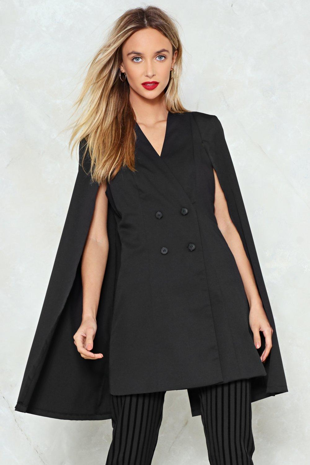 211692687a66b Cape Out of Trouble Blazer | Shop Clothes at Nasty Gal!