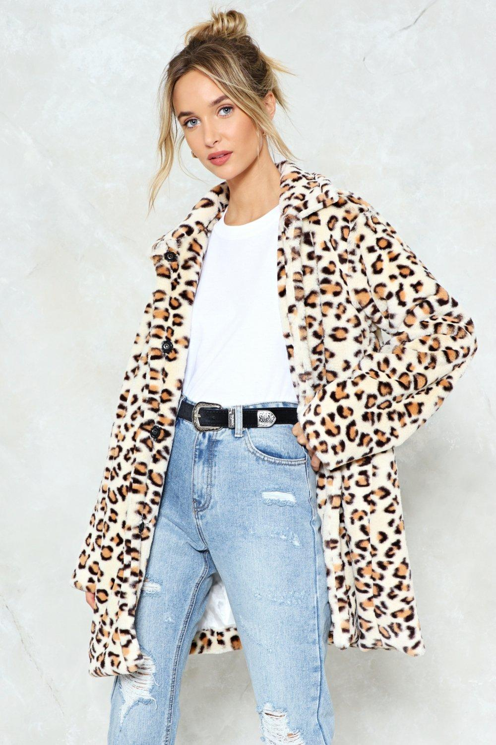 405b36999a No Hard Felines Leopard Faux Fur Coat | Shop Clothes at Nasty Gal!