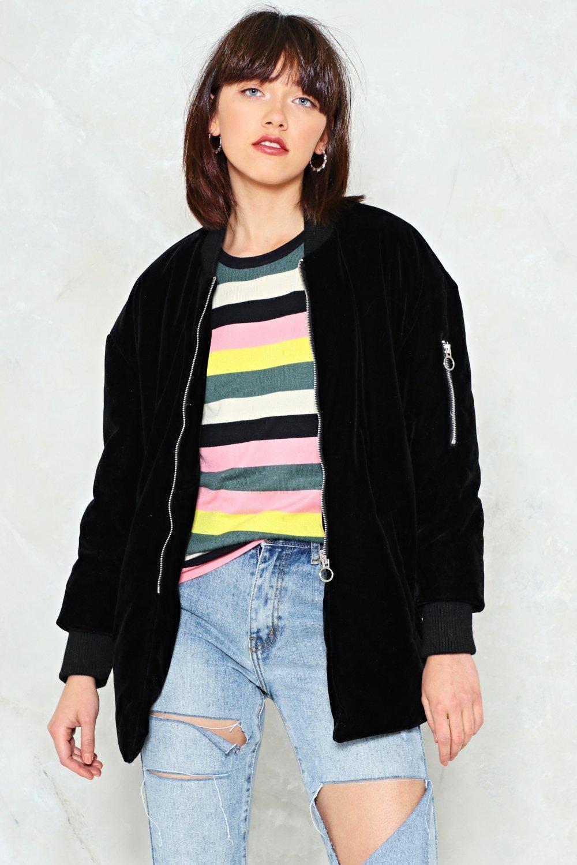 9e398ad01 Money Honey Velvet Bomber Jacket | Shop Clothes at Nasty Gal!