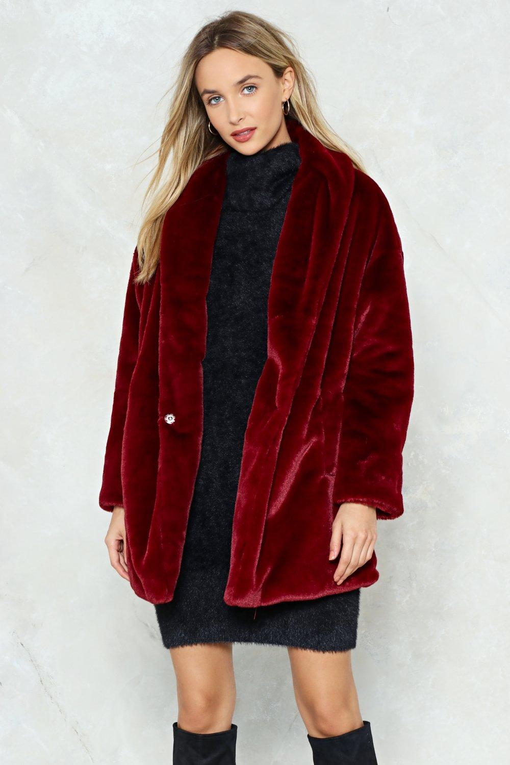 60fbc37bcc2 Anything Fur My Baby Faux Fur Coat | Shop Clothes at Nasty Gal!