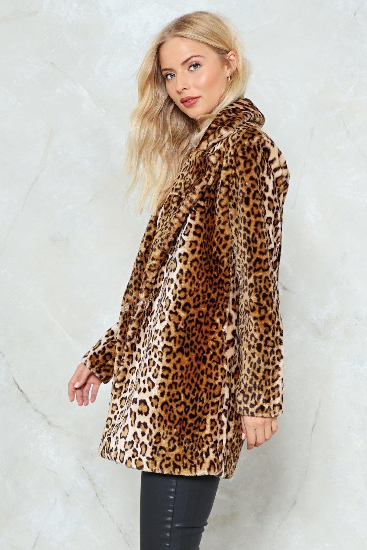 2dd06073b3a4 And I'm Feline Good Faux Fur Leopard Coat | Shop Clothes at Nasty Gal!