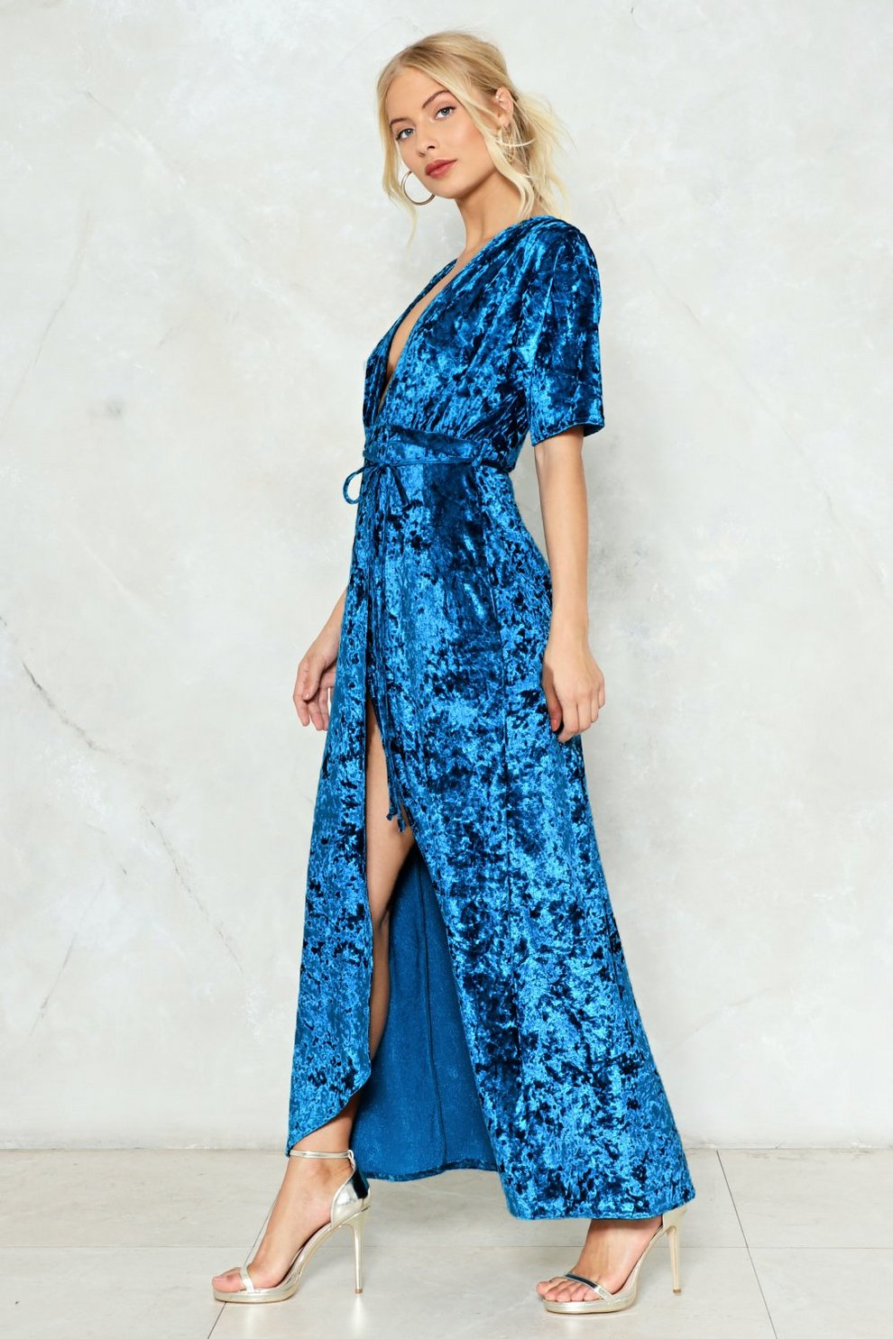 fa17c4755473b Deep Your Head Up Velvet Dress | Shop Clothes at Nasty Gal!
