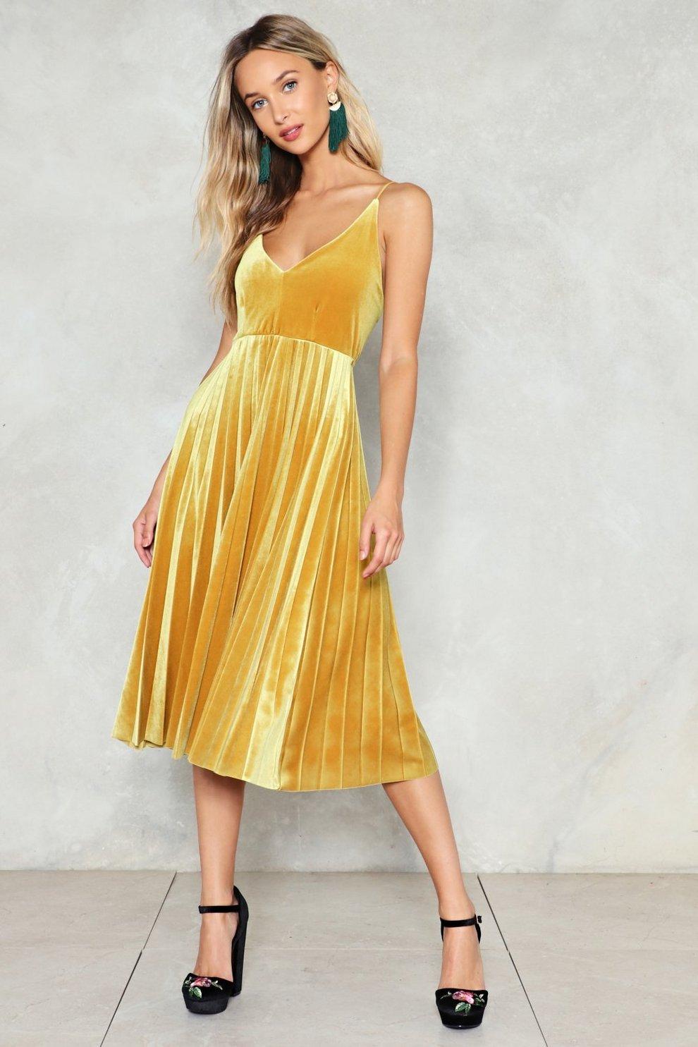 1aa42569e8 Feel Good Velvet Dress