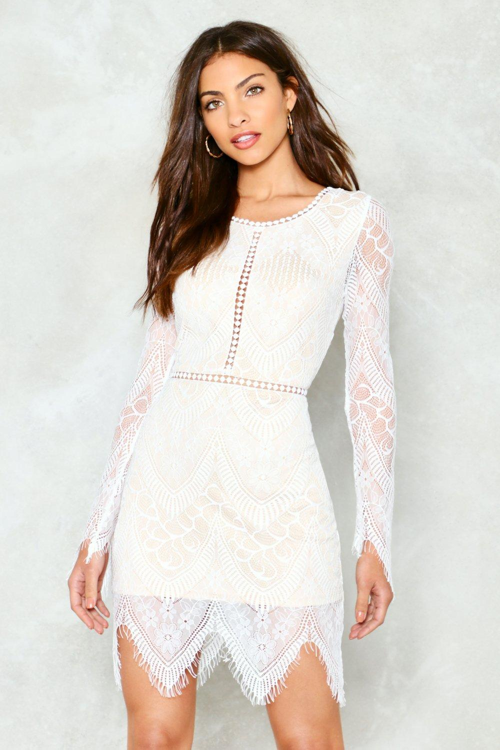 8947c9982740 One More Night Lace Mini Dress | Shop Clothes at Nasty Gal!
