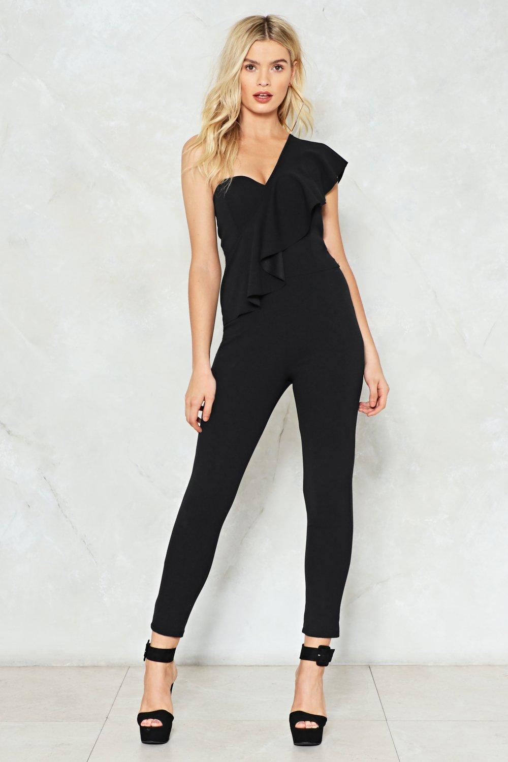 8b386b1238d ... One Ruffle Jumpsuit. Hover to zoom