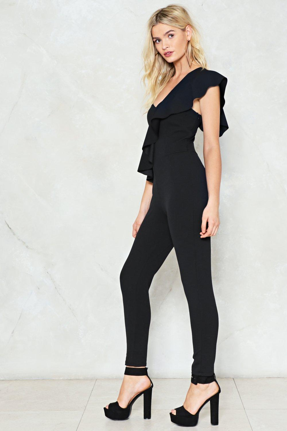 9d7971736d6 You re the One Ruffle Jumpsuit