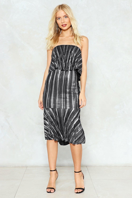 a481110a789b Light Year Striped Midi Dress
