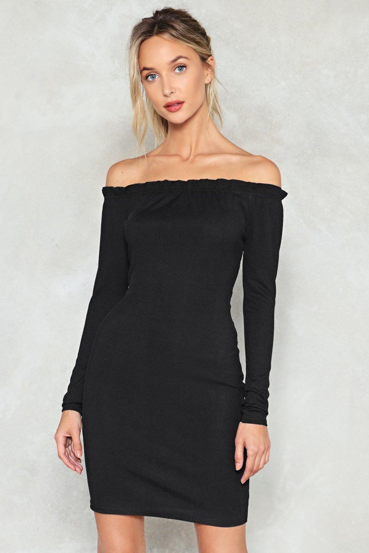 de63ba427 Body Shop Off-the-Shoulder Dress | Shop Clothes at Nasty Gal!