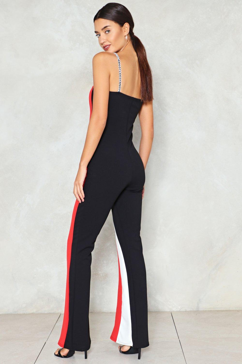 68574055b Out in the Open Striped Jumpsuit | Shop Clothes at Nasty Gal!