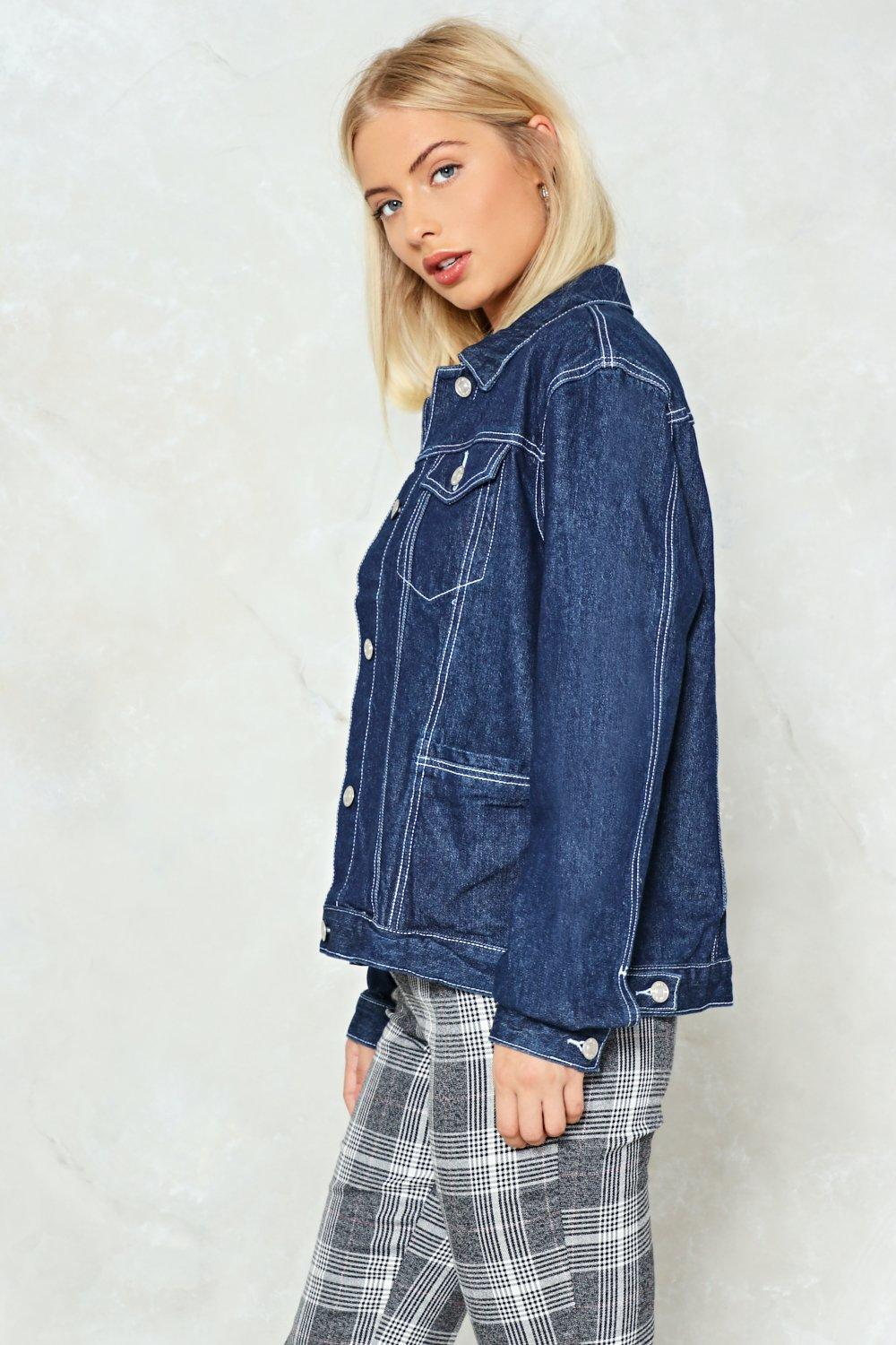 ce31056e2d0 Hover to zoom · What a Stitch Up Denim Jacket