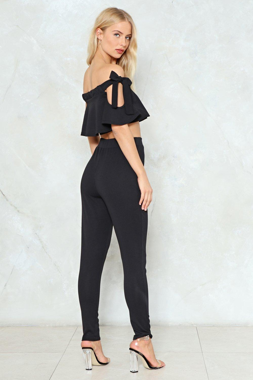 8e4d39a64bd Out of Office Off-the-Shoulder Top and Pants Set | Shop Clothes at ...