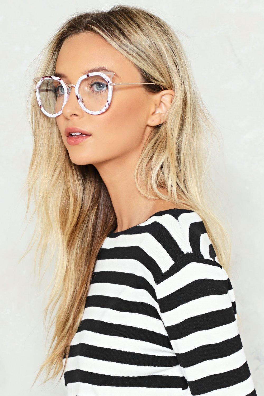 Big Idea Marble Glasses | Shop Clothes at Nasty Gal!