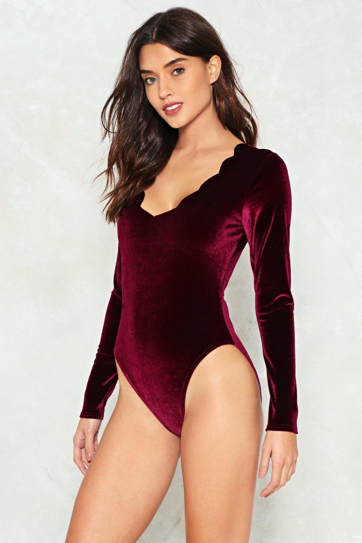 bd9dabdb6986 Edge Your Allegiance Velvet Bodysuit | Shop Clothes at Nasty Gal!