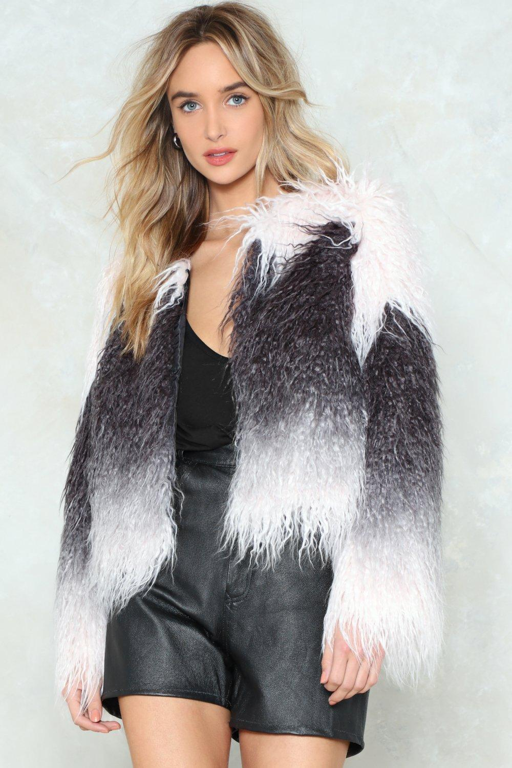 57affbabeb7c Fur My Sake Faux Fur Coat
