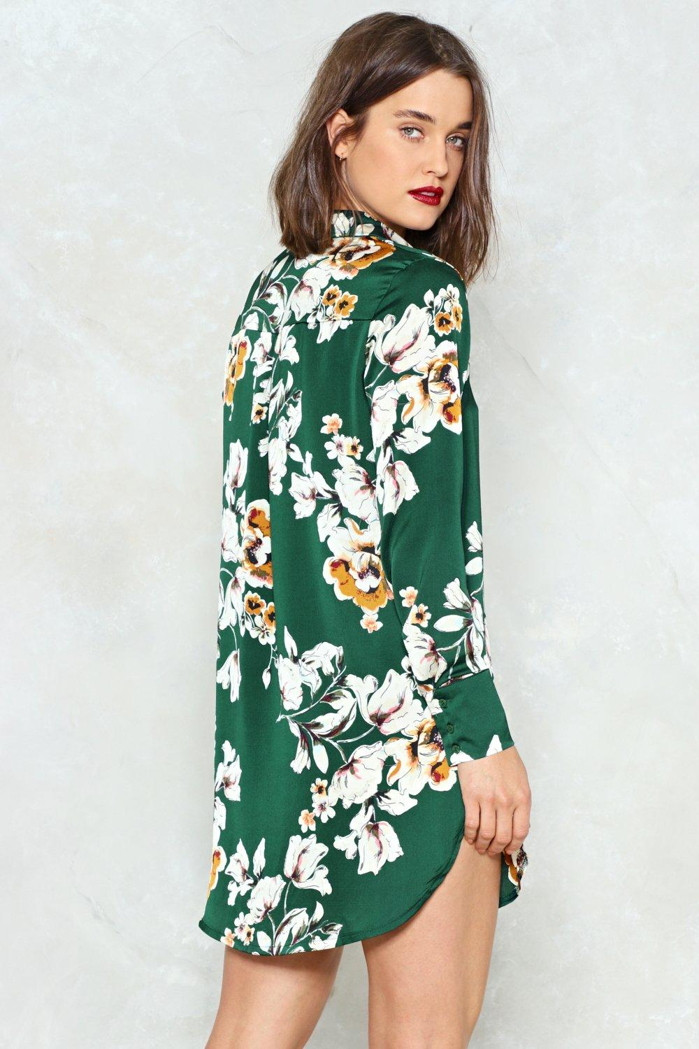 7fe790a1d3 Go With the Grow Shirt Dress | Shop Clothes at Nasty Gal!