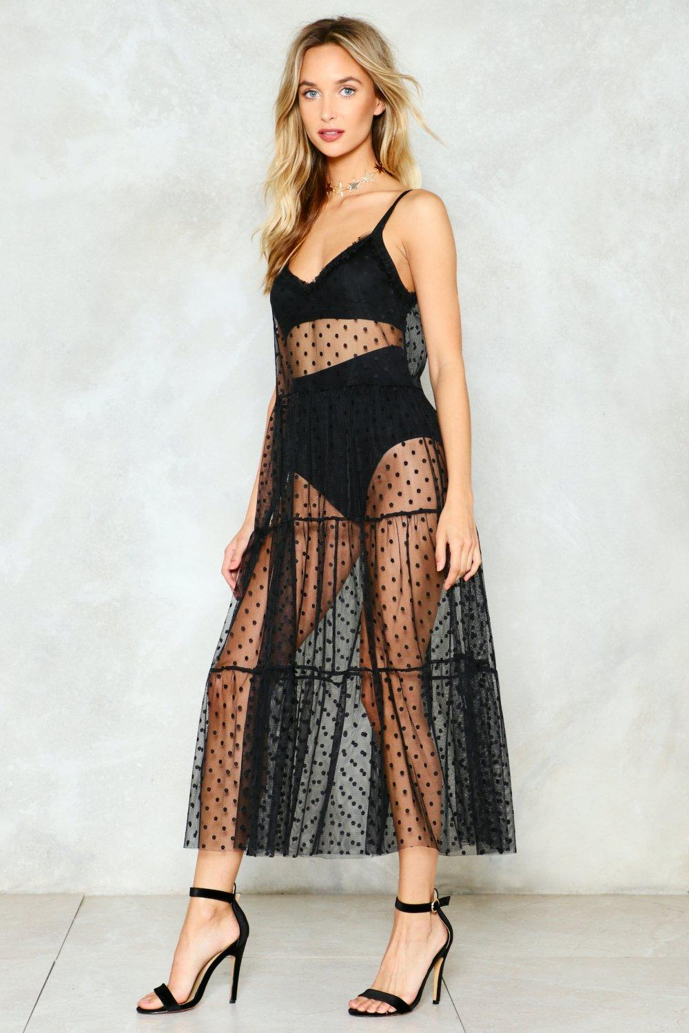 7c17ea425e164 Hot Spot Mesh Maxi Dress | Shop Clothes at Nasty Gal!