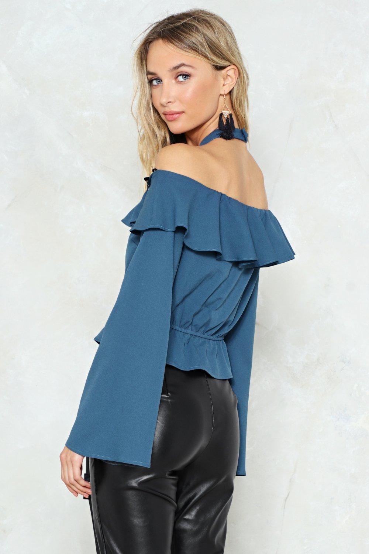 59e0e9d7894 Sleeve a Message Cold Shoulder Crop Top | Shop Clothes at Nasty Gal!