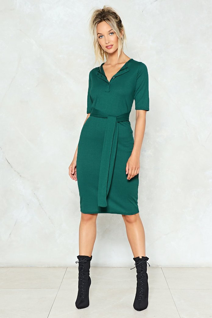 casual midi dress