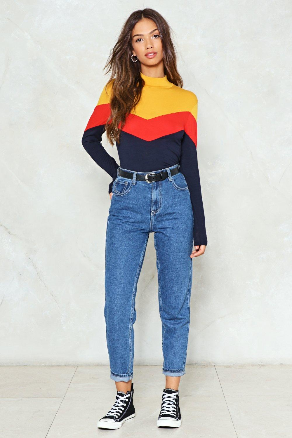 When Push Comes to Chevron Top   Shop Clothes at Nasty Gal!