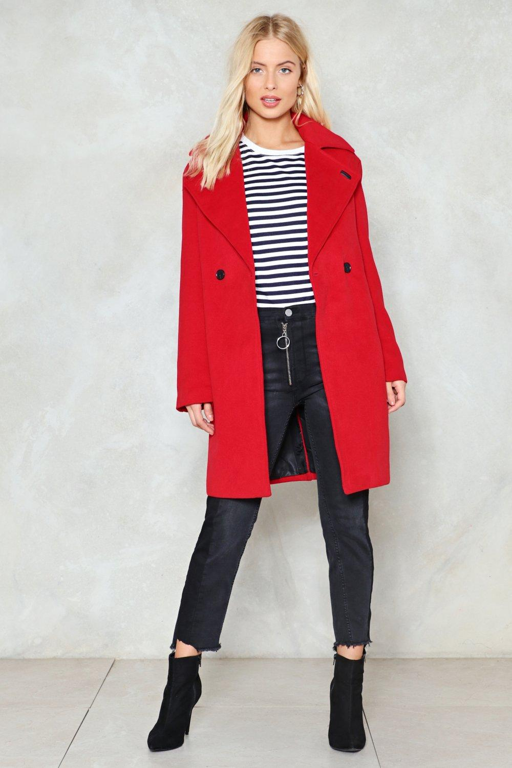 where there s a wool coat shop clothes at nasty gal