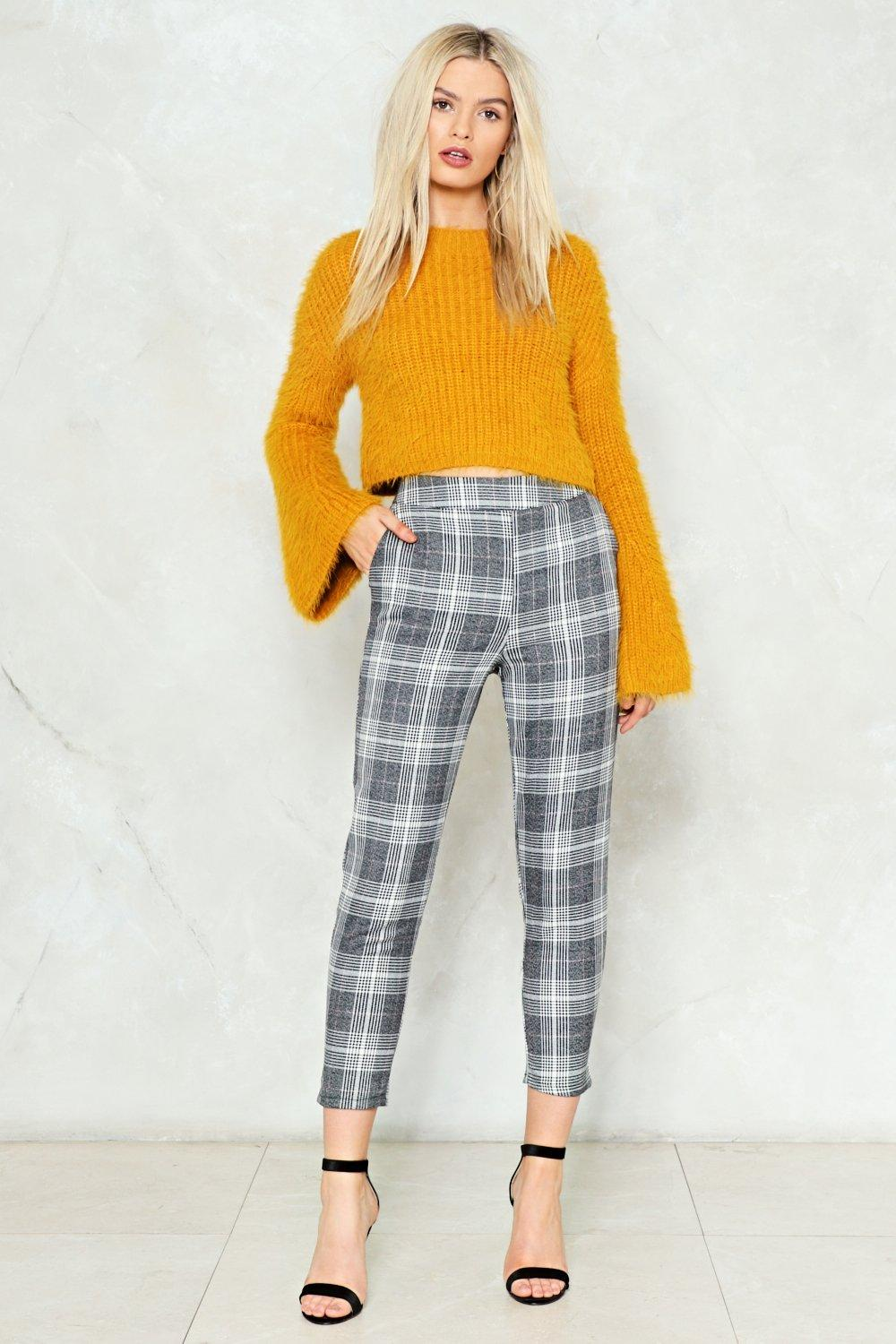 Wonderful On Your Mark Plaid Pants | Shop Clothes at Nasty Gal! GD46