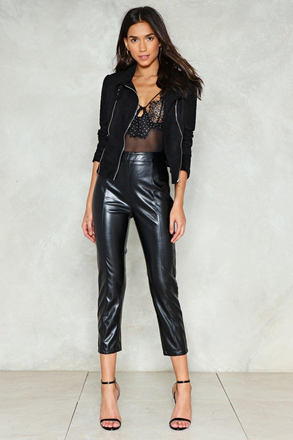 Leather pants-23746