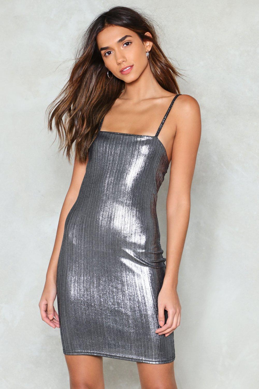 Silver Lining Mini Dress | Shop Clothes at Nasty Gal!