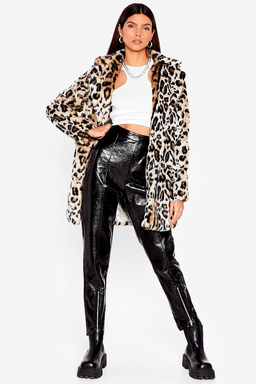 a042aaf51d Grrrl Power Faux Fur Leopard Coat | Shop Clothes at Nasty Gal!