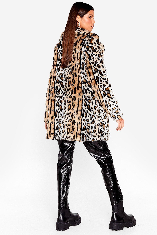 db9628a1bbde Grrrl Power Faux Fur Leopard Coat | Shop Clothes at Nasty Gal!