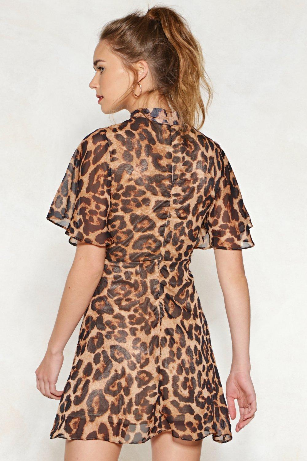 Feline This Leopard Dress | Shop Clothes at Nasty Gal!
