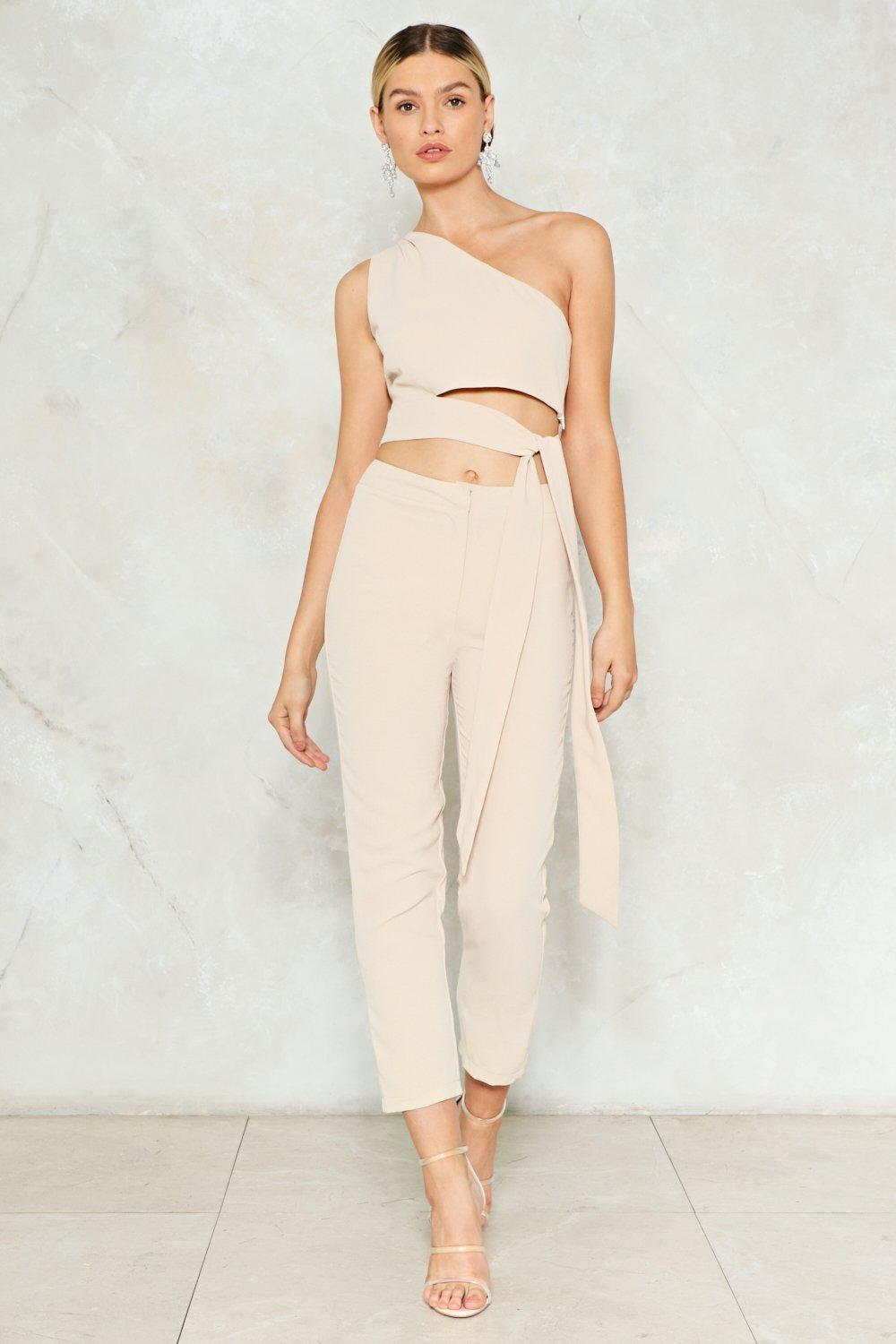 103f3e2f4d2 The One That Got Away One Shoulder Crop Top | Shop Clothes at Nasty Gal!