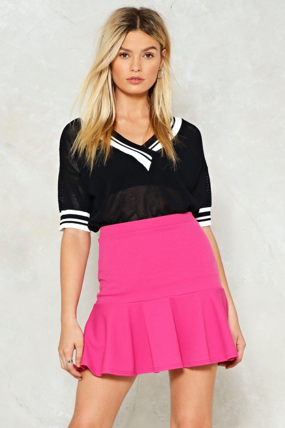 5b96e51af58 Flip Em' Off Ruffle Mini Skirt | Shop Clothes at Nasty Gal!