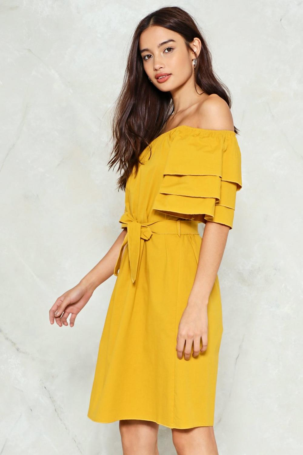 9ce6f8748236 ... Off-the-Shoulder Dress. Hover to zoom
